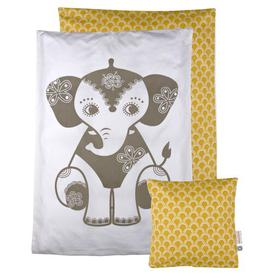 image-Soulmate Elephant 2 Piece Toddler Bedding Set Roommate