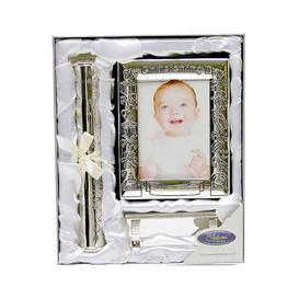 image-Christening Day - Photo Album and Certificate Stand