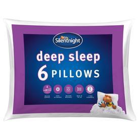 image-Silentnight Deep Sleep Pillow - 6 Pack
