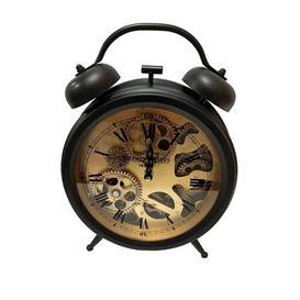 image-Faux Alarm Skeleton Gear Clock Borough Wharf