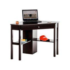 image-Botanic Corner Computer Desk, Cinnamon Cherry, Free Standard Delivery