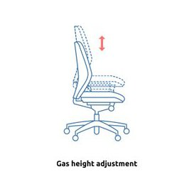 image-Brechin High Back Fabric Executive Chair With Headrest, Black, Free Delivered & Fully Installed Delivery