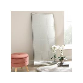 image-Luxe Window Leaner Mirror 70x150cm Silver