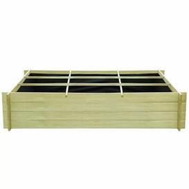 image-Capra Wooden Planter Box with Trellis Sol 72 Outdoor