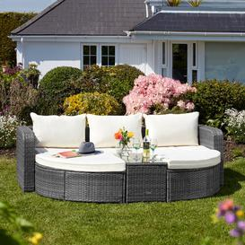 image-Boonton Garden Daybed with Cushions Sol 72 Outdoor