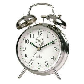 image-Saxon Alarm Clock Acctim