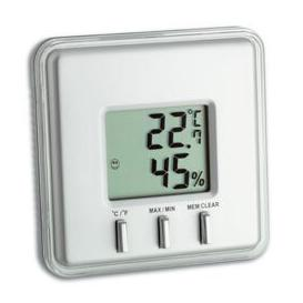 image-Digital Thermometer and Hygrometer Symple Stuff