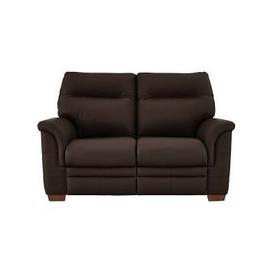 image-Parker Knoll - Hudson 2 Seater Leather Power Recliner Sofa - Brown