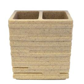 image-Brick Toothbrush Holder Grund Colour: Beige