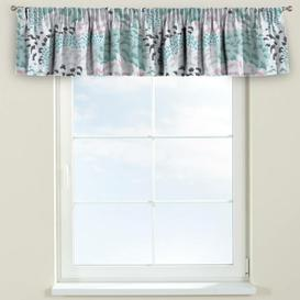 image-Brooklyn Curtain Pelmet Dekoria Size: 390cm W x 40cm L, Colour: Green and grey