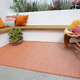 image-Terracotta Mottled Indoor  Outdoor Rug - Patio