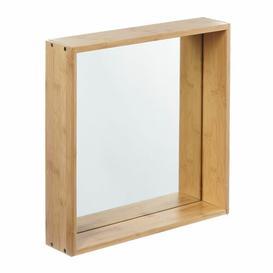 image-Accent Mirror Grattify Size: 26 cm H x 26 cm W