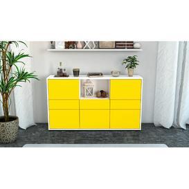 image-Speegle Sideboard Brayden Studio Colour: White/Yellow