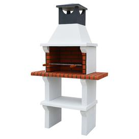 image-53cm Modena Masonry Charcoa Built-in Barbecue with 2 Side Table Sol 72 Outdoor Finish: Black