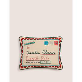 image-Pure Cotton Small Christmas Cushion