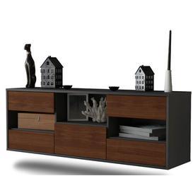 image-Noselli TV Stand Ebern Designs Colour: Walnut