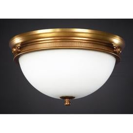 image-Shebaka 2 Light Flush Ceiling Light Rosalind Wheeler Finish: Antique Silver