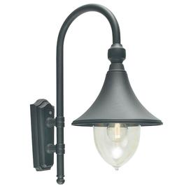 image-Norlys F2 BLACK Firenze 1 Light Outdoor Wall Light In Black