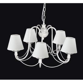 image-Edelstein 5-Light Shaded Chandelier Fleur De Lis Living