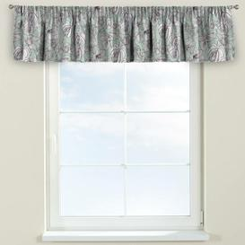 image-Brooklyn Curtain Pelmet Dekoria Size: 260cm W x 40cm L, Colour: Green and grey