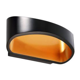 image-Acamar 1-Light LED Up & Downlight Kapego LED Colour: Black