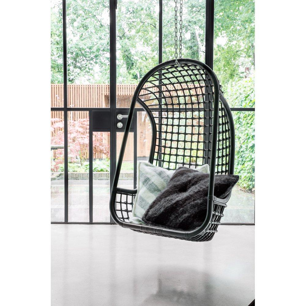 image-Cromer Indoor Hanging Chair Black