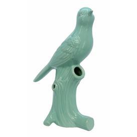 image-Bird Table Vase House of Hampton Colour: Green