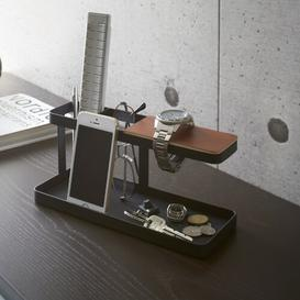 image-Tower Desk Organiser Yamazaki Colour: Black