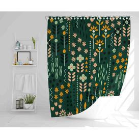image-Flickinger Polyester Shower Curtain Set Corrigan Studio Size: 177cm H x 177cm W