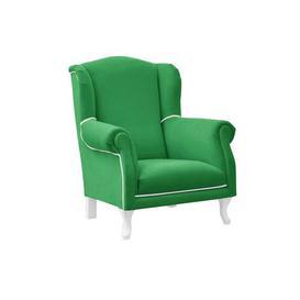 image-Simon Children's Club Chair BelleFierté Colour (Upholstery): Green