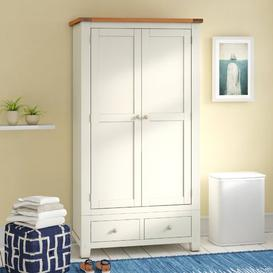 image-East Milton 2 Door Wardrobe Beachcrest Home