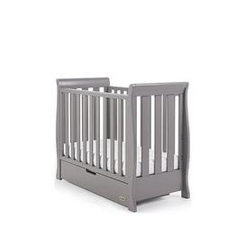 image-Obaby Stamford Space Saver Sleigh Cot