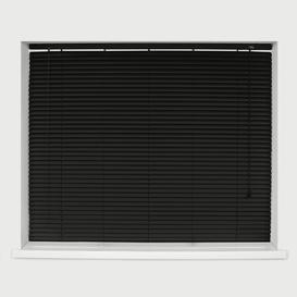 image-Sheer Venetian blind Ebern Designs Finish: Black, Size: 210 cm L x 75 cm W