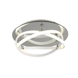 image-M5992 Infinity LED Flush Ceiling Light In White