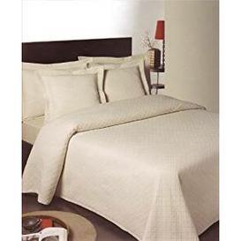image-Ariana Heavyweight Matelasse Bedspread Brambly Cottage Size: King, Colour: Cream