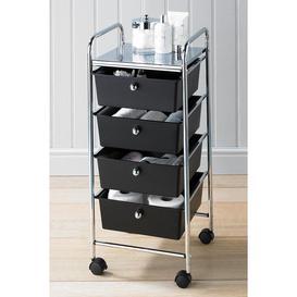 image-4 Drawer Storage Trolley