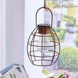 image-Cheston Duisburg 2 Light Outdoor Hanging Lantern Sol 72 Outdoor