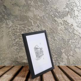 image-Axtell Picture Frame Ebern Designs Colour: Black, Size: 18cm H  x 18cm W x 2cm D