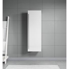 image-Boilleau 40cm x 120cm Corner Wall Mounted Cabinet Belfry Bathroom Finish: White