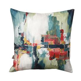 image-Esther Cushion with Filling Marlow Home Co. Colour: Green, Size: 58 x 58cm