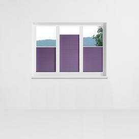 image-Affoux Pleated Blind Symple Stuff Size: 50 x 130cm, Colour: Purple