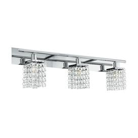 image-Eglo 97748 Arequito 3 Light Bathroom Wall Light In Chrome