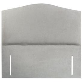 image-Janet Upholstered Headboard Ebern Designs Size: Super King (6'), Upholstery: Plush Steel