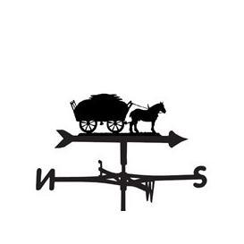 image-Weathervane in a Hay Time Horse Design - Medium (Cottage)