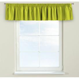 image-Jupiter Curtain Pelmet Dekoria Size: 390cm W x 40cm L, Colour: Yellow green