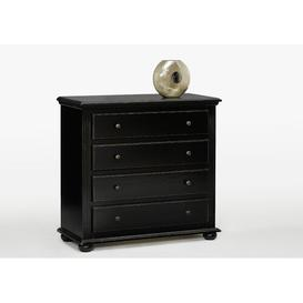 image-Addilynn 4 Drawer Combi Chest Union Rustic Colour: Black