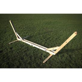 image-Folding Wood Standard Hammock Stand