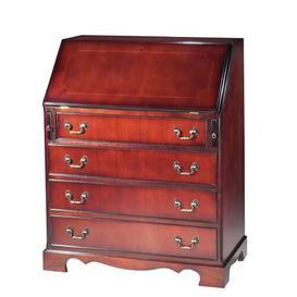 image-Pomfret Secretary Desk Rosalind Wheeler Finish: Yew