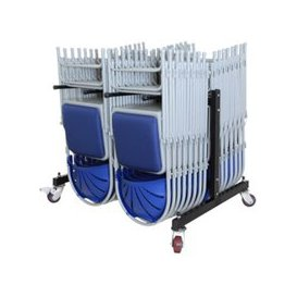 image-Low Hanging Chair Transport Trolley, Black, Free Standard Delivery