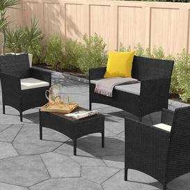 image-Ana Maria 4 Seater Rattan Sofa Set Zipcode Design